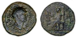 Ancient Coins - ROMAN PROVINCIAL – Lycia-Pamphylia, Cilicia Trachea, Laerte or Laertes, Trajan, AE, Demeter reverse