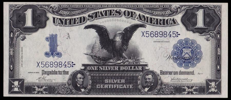 Fr. 229 – Series 1899 1 Dollar Silver Certificate \