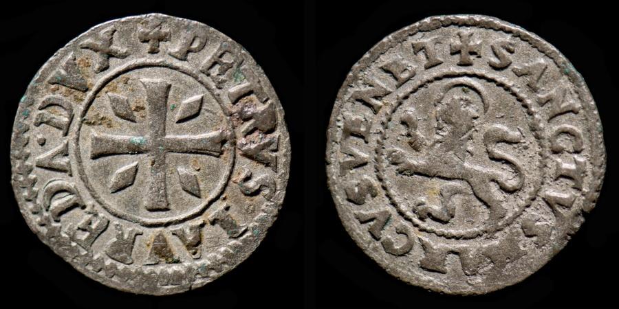 World Coins - CYPRUS – Venetian colony (1567 – 1570) Doge Pietro Loredan 4 Carzie