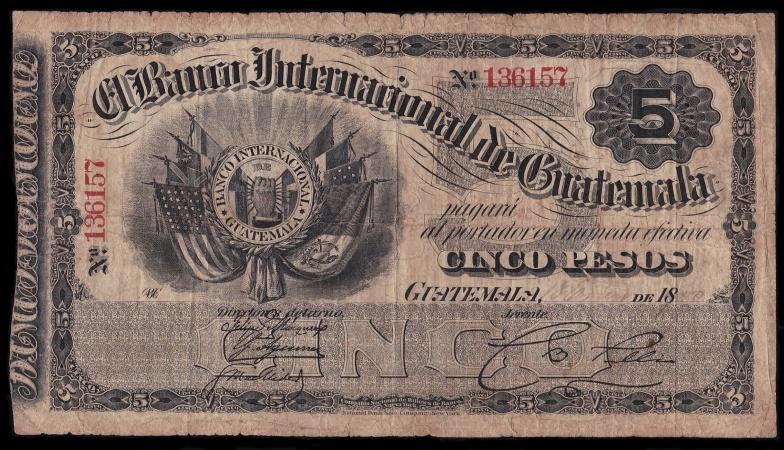 Guatemala republic el banco internacional de guatemala for Banco internacional