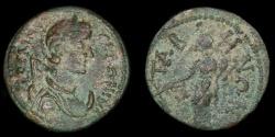 Ancient Coins - ROMAN PROVINCIAL – Asia, Conventus of Alabanda, Caria, Tabae or Tabai, Salonina AE Diassarion, Tyche reverse
