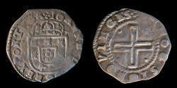 World Coins - PORTUGAL – Kingdom (ca. 1643) Tostão João IV