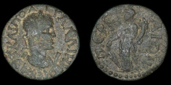 Ancient Coins - ROMAN PROVINCIAL – Lycia-Pamphylia, Perga, Gallienus, AE 10 Assaria, Tyche reverse