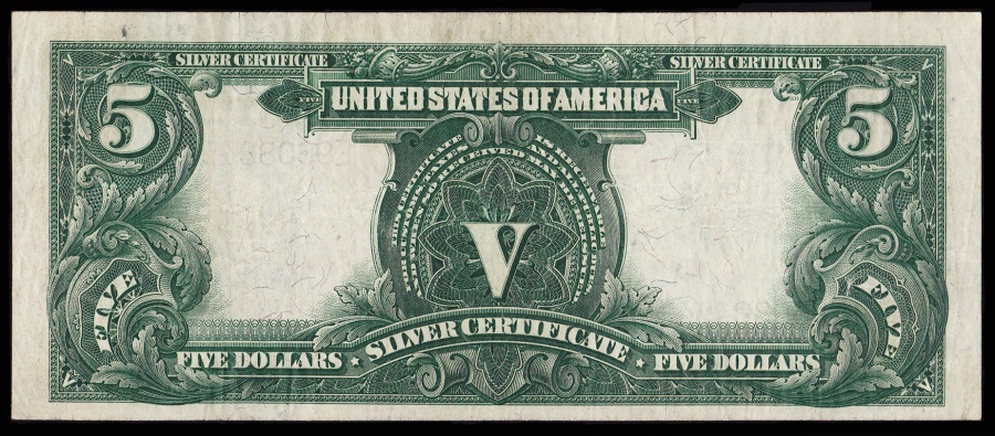 Dollar Silver Certificate Indian Chief