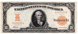Us Coins - UNITED STATES - Fr. 1169, Ten Dollar Gold Certificate, Series of 1907, W-1532