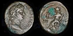 Ancient Coins - ROMAN PROVINCIAL – Egypt, Alexandria, Nero, Tetradrachm, Yr. 5 (58/9 A.D.), Roma reverse