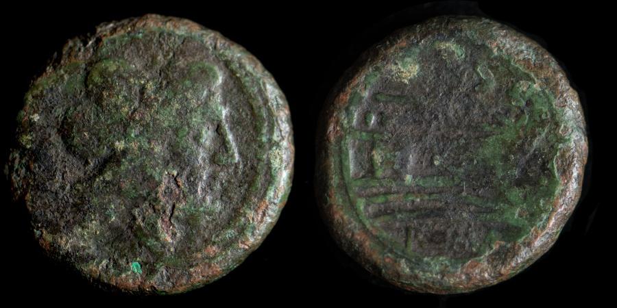 ROMAN REPUBLIC – Crawford 56/3, Anonymous Semis, post 211 B C