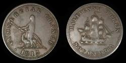 World Coins - CANADA – NOVA SCOTIA – 1815 Commercial Change Token, Br. 885