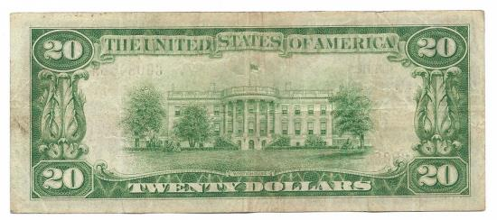 US Coins - Virginia, Lynchburg, Ch. 1558, The First National Bank of Lynchburg, Virginia, Series of 1929 Type 1 $20