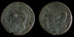Ancient Coins - ROMAN REPUBLIC – Crawford 38/6, Anonymous Uncia, 217 – 215 B.C.