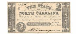 Us Coins - State of North Carolina, October 6, 1861, 2 Dollars, Cr. 22