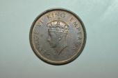 World Coins - India; 1/4 Anna 1939 (c)  George VI  BU