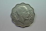 World Coins - Iraq; 4 Fils AH1352-1933  VF+