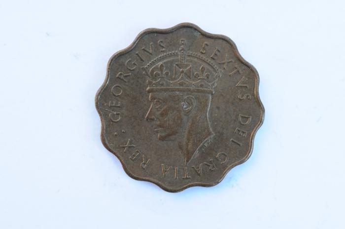 World Coins - Cyprus 1/2 Piastre 1949  AU