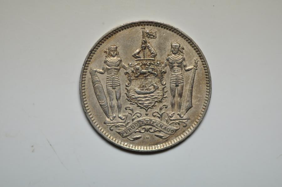 World Coins - British North Borneo; 5 Cents  1940 H   XF