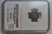 World Coins - USA - Philippines; 1/2 Centavo 1904   NGC PF63 BN