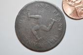 World Coins - Isle of Man; Penny 1811
