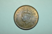 World Coins - India; 1/4 Anna  1942 (b)   Unc