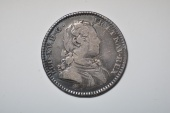 "World Coins - France; Silver Jetton ""Normandie Rouen"" ca. 1715-1722  VF"