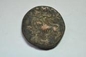 World Coins - India, Mysore; 20 Cash  1838  F/VF