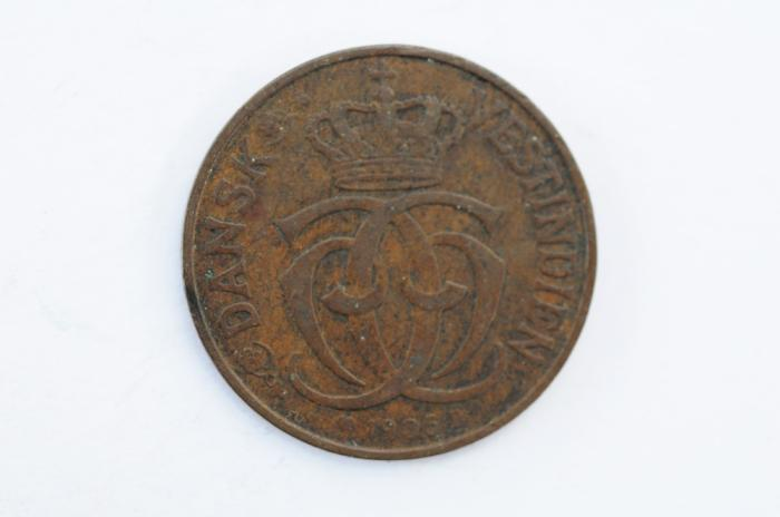 World Coins - Danish West Indies Cent - 5 Bit 1905   VF