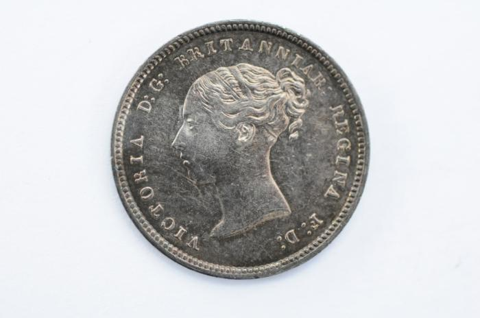 World Coins - Great Britain   4 Pence - Groat 1849 UNC - Proof Like