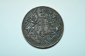World Coins - India - East India Company; 1/4 Anna 1835  XF