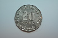 World Coins - State of South Vietnam; 20 Dong  1968  Unc.