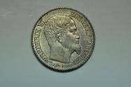 World Coins - Danish West Indies: 5 Cents 1859  BU