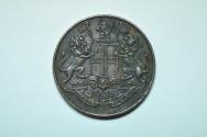 World Coins - India - East India Company; 1/4 Anna 1835  XF