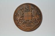 World Coins - India; East India Company 1/4 Anna 1835  VF