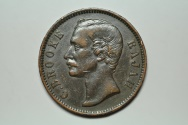 World Coins - Sarawak; Cent 1889 H   VF