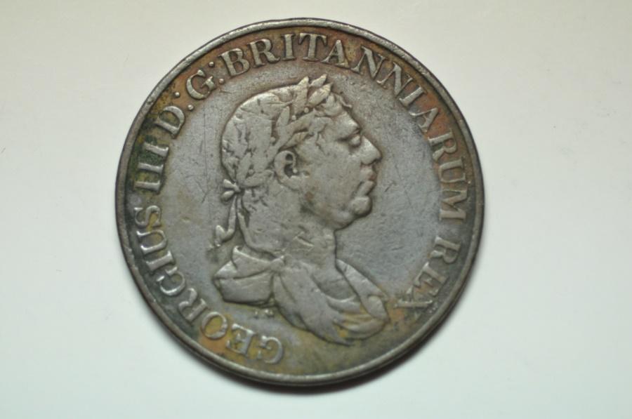 World Coins - Ceylon; 2 Stivers  1815  VF