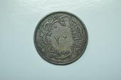 World Coins - Turkey; 20 Para AH1277/4  VF+