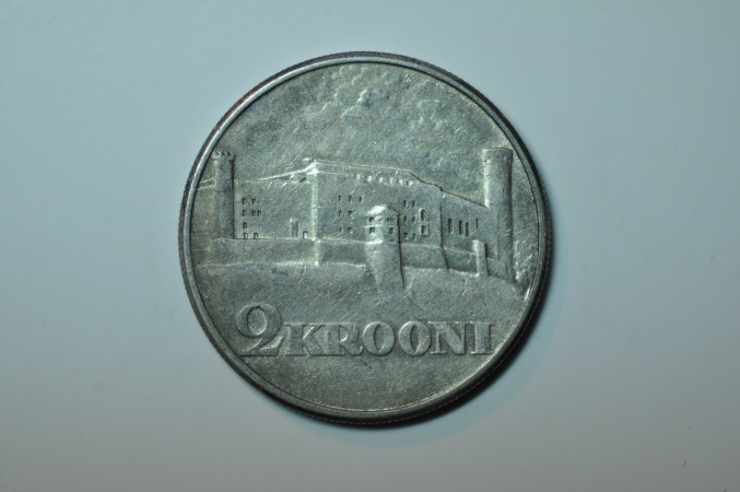 World Coins - Estonia; Silver 2 Krooni 1930  XF