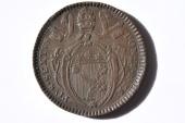 World Coins - Papal States; 2 Baiocchi - Muraiola Anno XX - 1794  XF