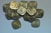 World Coins - Pakistan; 1/2 Anna1951 - 20 coins lot  UNC