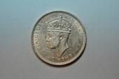 World Coins - Malaya; 20 Centsd 1939  UNC