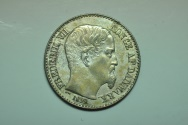 World Coins - Danish West Indies: 10 Cents 1859 (c)  UNC