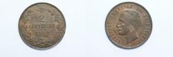 World Coins - Italy 2 Centesimi  1903R   UNC