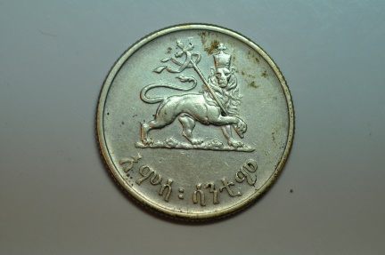 World Coins - Ethiopia; Silver 50 Cents  EE1936 - 1943-44   VF/XF