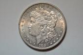 Us Coins - Morgan Dollar 1880 O  micro O