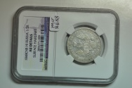 World Coins - Russia; Ag Poltina - 1/2 Rouble 1848 CPB HI  NGC AU Details