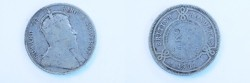 World Coins - British Honduras Silver 25 Cents 1907  Fine