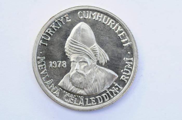 World Coins - Turkey Silver 200 Lira 1978  PROOF