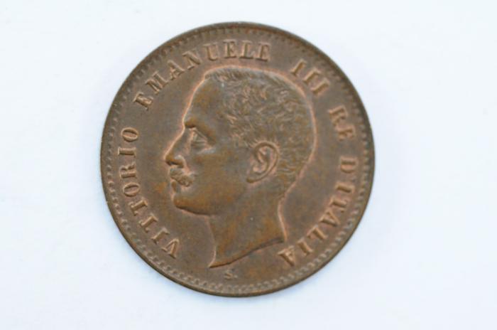 World Coins - Italy 2 Centesimi 1903 R  AU