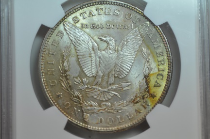 US Coins - Morgan Dollar 1898   NGC MS63