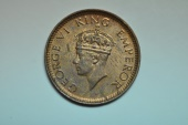 World Coins - India; 1/12 Anna  1939  UNC