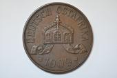 German East Africa; 5 Heller 1909 J   AU