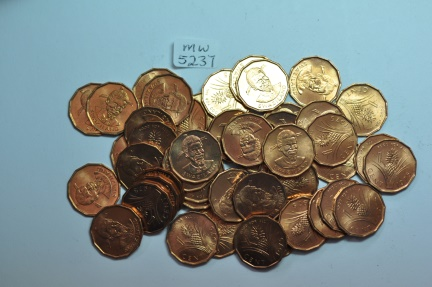 World Coins - Swaziland; Cent 1975  BU - 50 coins lot   Series: FAO